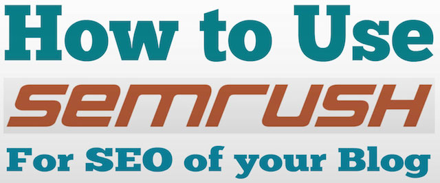 SEMRUSH for SEO