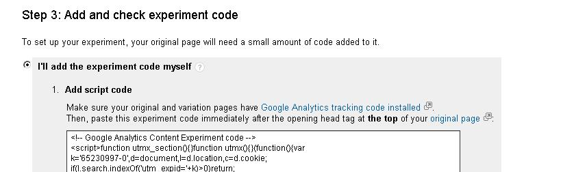 a b split test with google analytics4