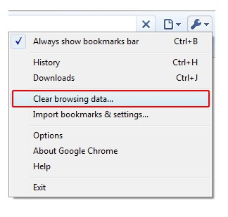 remove google chrome history 1 How to Clear Internet History from Popular Browsers