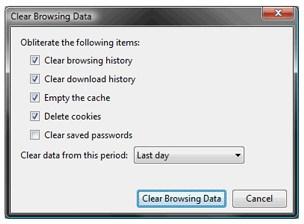 remove Chrome History