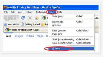 Remove Mozilla Firefox History
