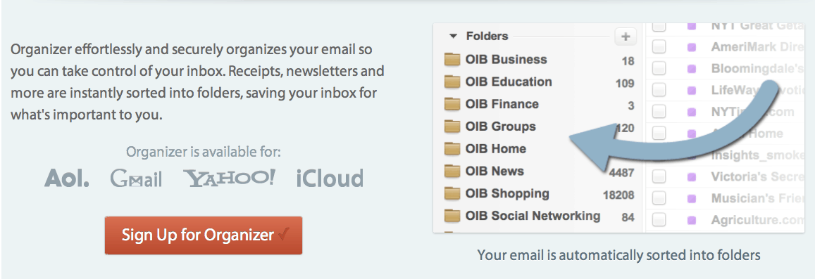Other INbox Organizer OtherInbox : Keep your Gmail Inbox Less Cluttered