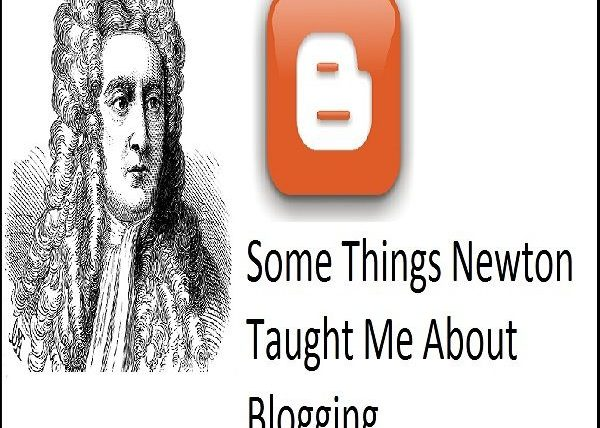 Newton's Law of Blogging : Non Text Book Version
