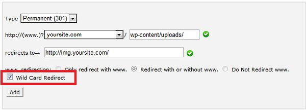 301 redirect How to Redirect WordPress Images to Sub Domain for Faster Loading