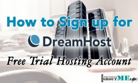 How to Sign up for Dreamhost Free Trial Hosting Account