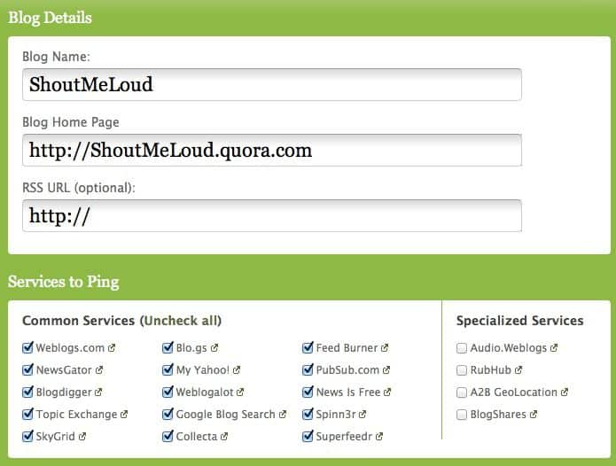 Index Blogs on Quora How to Optimize Quora Blogs for Search Engines