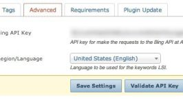 How to find Bing Search API for SEOPressor LSI Settings