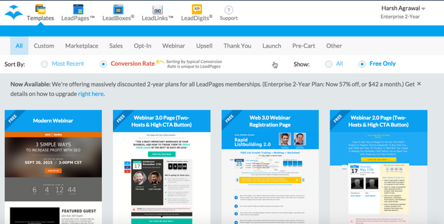 Leadpages WordPress