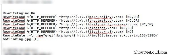 Prevent image hotlinking How to Prevent Image Hotlinking from Specific Domains