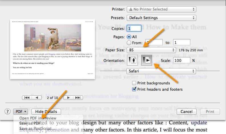 Save Webpage as PDF How to Convert A Webpage to PDF Without Any Software
