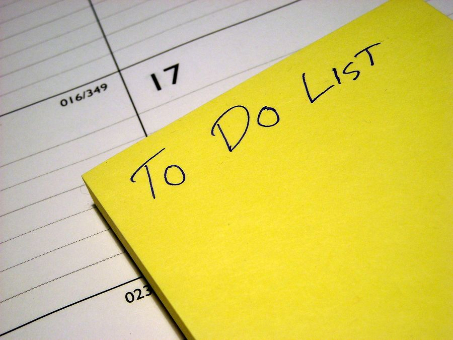 To DO List - Work from home