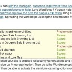 WordFence WordPress scan 150x150