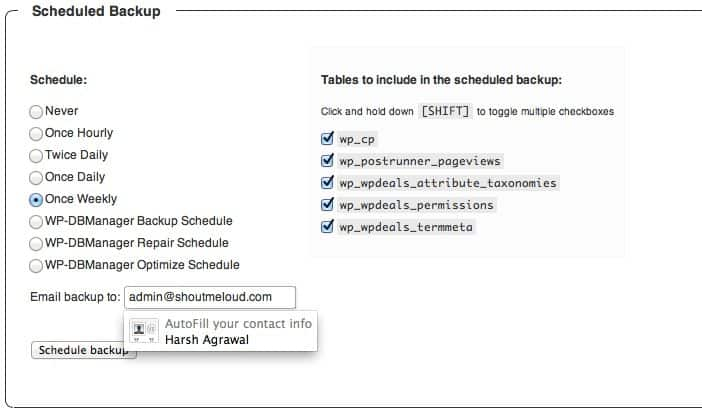 How to Automate WordPress Database Backup