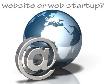 A Website, A Blog or a Web Startup