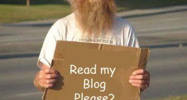Who Should Never Do Blogging?