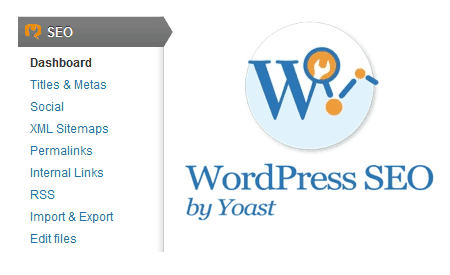 yoast wordpress seo dashboard