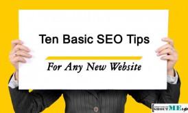 Ten Basic SEO Tips for Any New Website