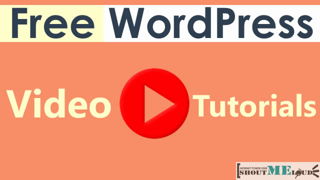 Free WordPress Video Tutorials