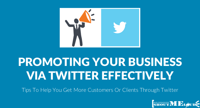 How to Promote Business On Twitter