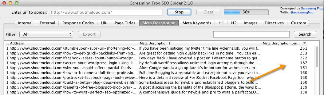 Long meta description  5 Reasons Why your Blog Post is not Getting Search Traffic