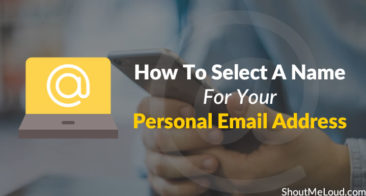 How To Select A Name For Your Personal Email Address