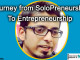 Journey from SoloPreneurship to Entrepreneurship : My Story