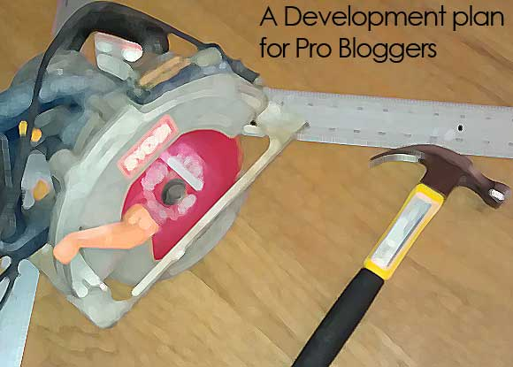 Blogger Development plan Before You Make Money Online : A Development Plan for Pro Bloggers.
