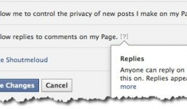 How to Enable Threaded Comments on Facebook Pages