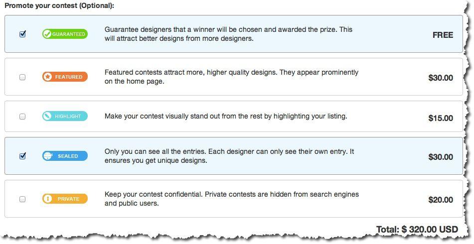 Freelance contest