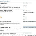 How to Create Donation Button for Hosting Bills : Dreamhost Only