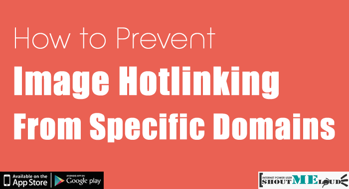 How to Prevent Image Hotlinking