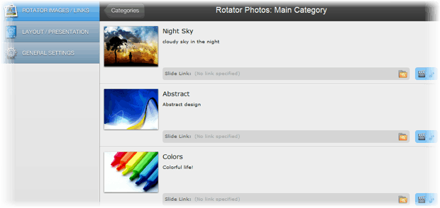 easyrotator adding image How to Create Free jQuery Image Slider for A Website in Minutes