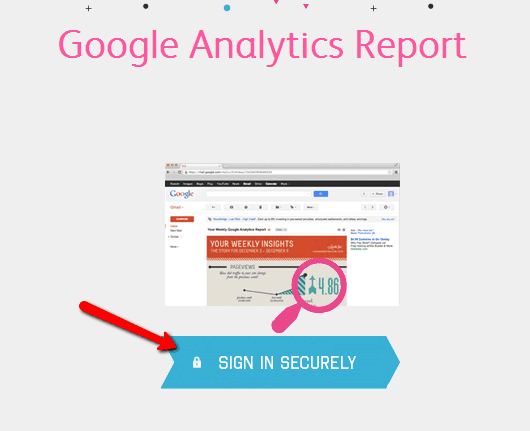 google analytic report sign in
