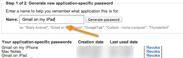 Application specific password How to Generate Google App Specific Password for 2 Step Verification