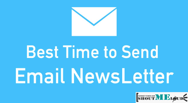Best Time To Send Email Newsletter