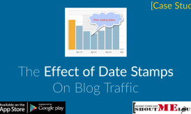 The Effect of Date Stamps on Blog Traffic [Case Study]