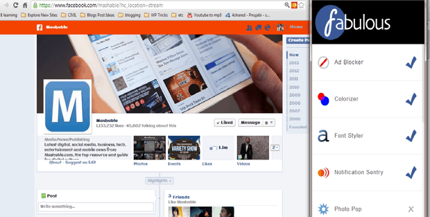 Fabulous Chrome Extension 5 Must have Google Chrome extensions for Facebook Addicts