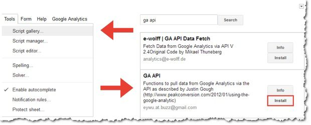 Google Analytics API AlgoSleuth : Find Which Google Panda Update Affected your Website