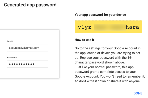 how to find your lost gmail password