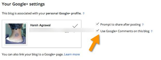 Google plus commenting system How to Enable Google Plus Commenting on BlogSpot Blogs