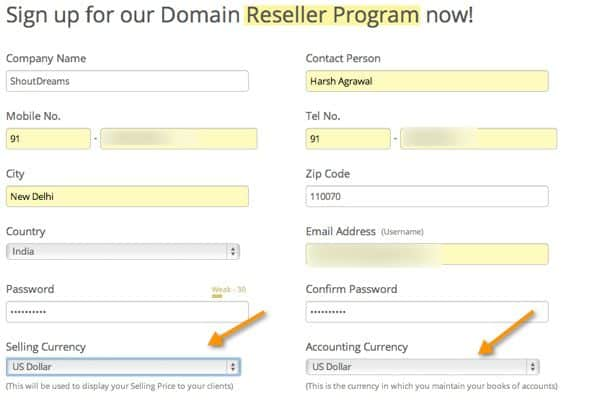 Hosting Form How to Start your Domain And Webhosting Company