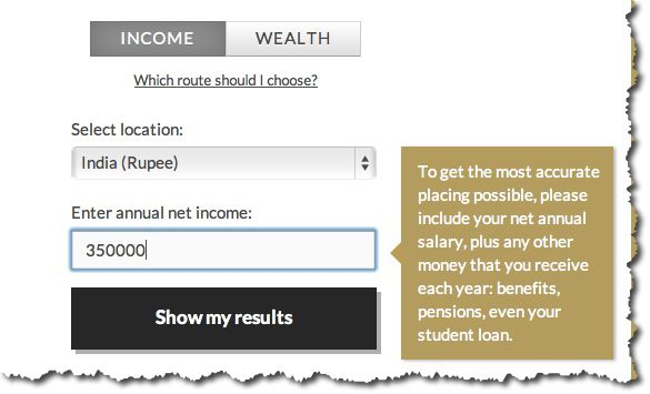 How Rich Are you in the World? Let's find out