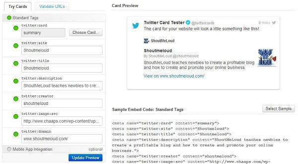 Screenshot 11 How To Add Twitter Card on Your Website?