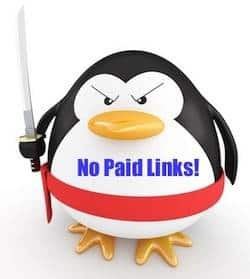 No paid backlinks