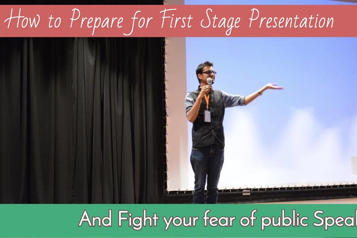 how to prepare for first stage presentation practical tips