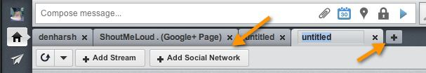how to add social network to hootsuite