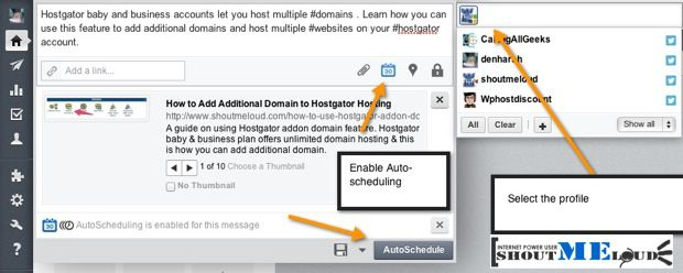Autoscheudle updates Google plus page