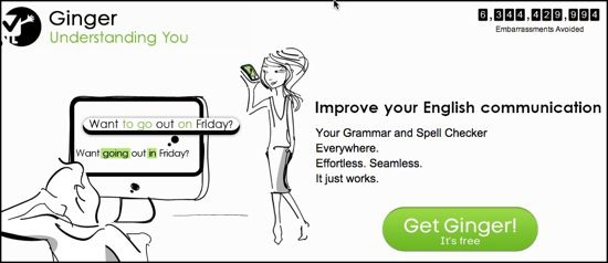 Ginger 5 Online Proofreading Tools for Error Free Writing
