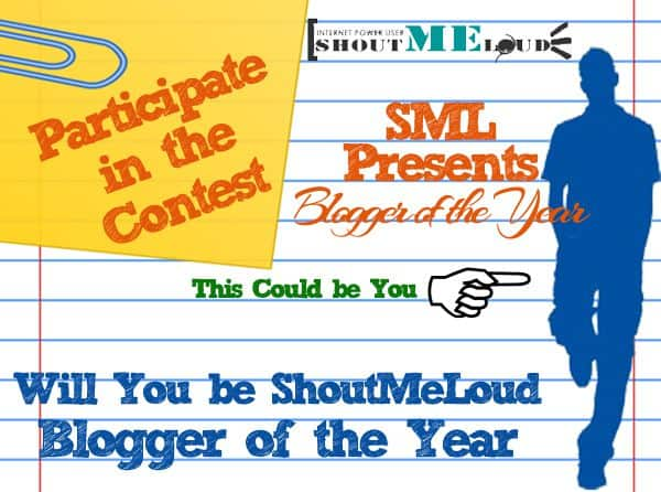 SM blogger of the Year Contest How to Create a Blog Contest for Exposure and Traffic