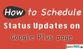 How to Schedule Status Updates on Google Plus page